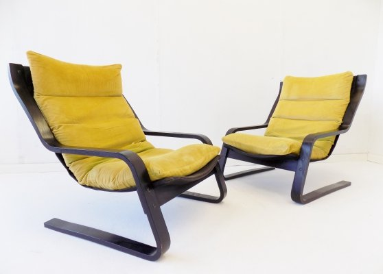 Pair of cantilever chairs by Farstrup, 1970s