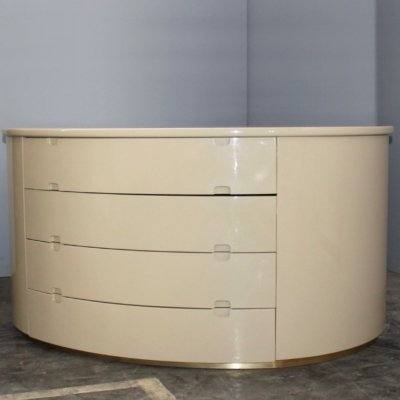 Italian Beige chest of drawers, 1970's