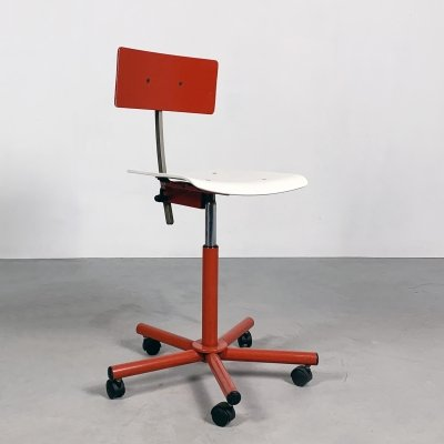 Teens Desk chair by Anna Anselmi for Bieffeplast, 1980s