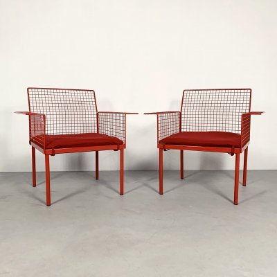 Set of 2 Garden Chairs from Evoluzione, 1980s