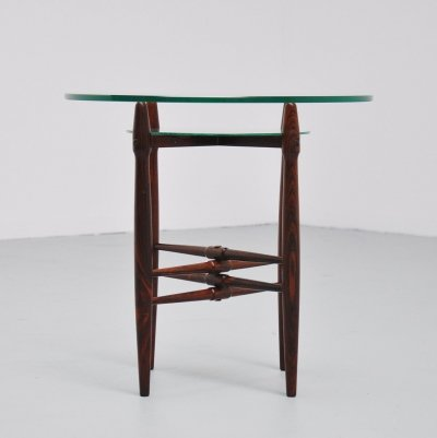 Poul Hundevad for PJ Furniture side table, 1958
