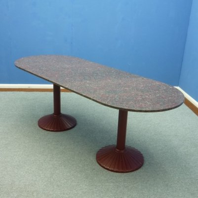 Dining table or Conference Table by Zanotta, 1980s