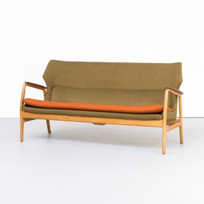 60s Aksel Bender Madsen wing back sofa for Bovenkamp