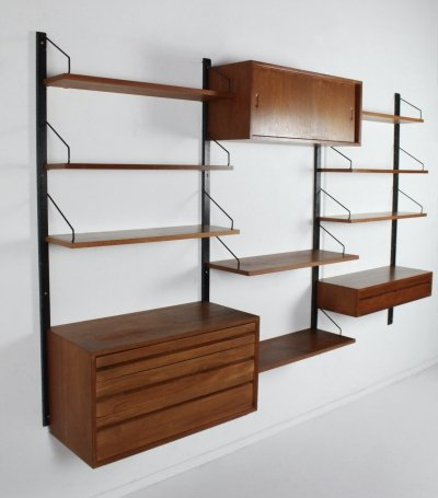 Wall unit by Poul Cadovius for Cado Royal system