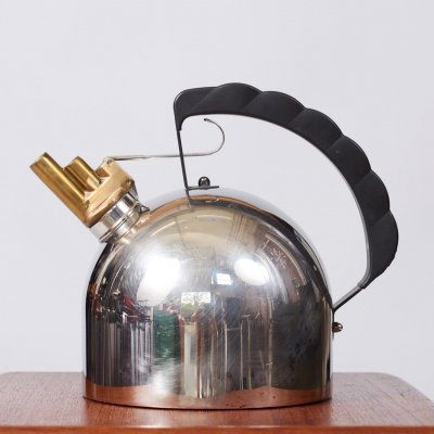 Tea Kettle 9091 by Richard Sapper for Alessi, 1980s