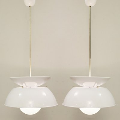 'Cetra' Hanging Lamp by Vico Magistretti for Artemide, 1960s
