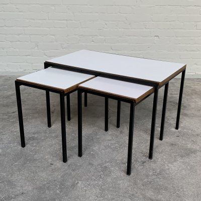 Japanese Series nesting tables by Cees Braakman for Pastoe, 1960s