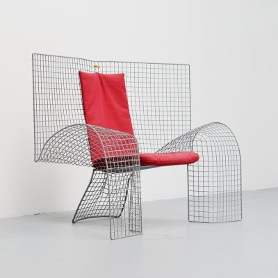 Volare chair by D'Urbino & Lomazzi for Zerodesigno, 1992