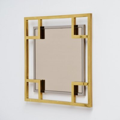 Maison Jansen wall mirror, France 1970