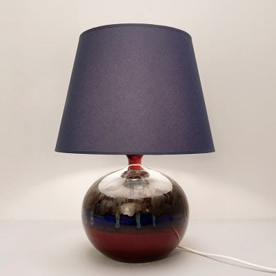 German Pottery Table Lamp by Hutschenreuther, 1960s