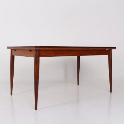 Teak extending table by Oswald Vermaercke for V Form, 1950's