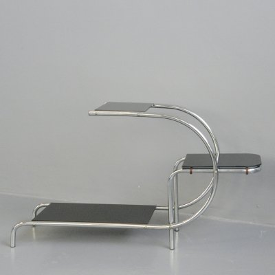 Bauhaus Plant Stand by Emile Guyot for Gottwald, Circa 1930s