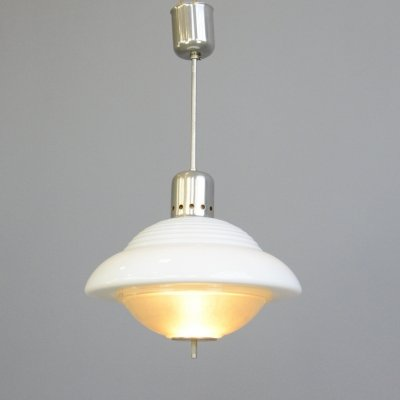 Atomic Pendant Light by Siemens, Circa 1950s