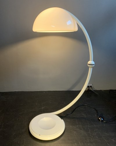Serpente floor lamp (2131) by Elio Martinelli for Martinelli Luce, Italy 1965