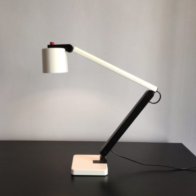 System Design desk lamp by Ettore Sottsass for Erco, 1970's