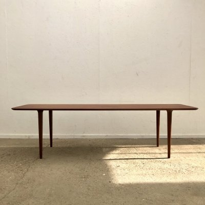 Teak coffee table by Gustav Bahus, Denmark 1950s