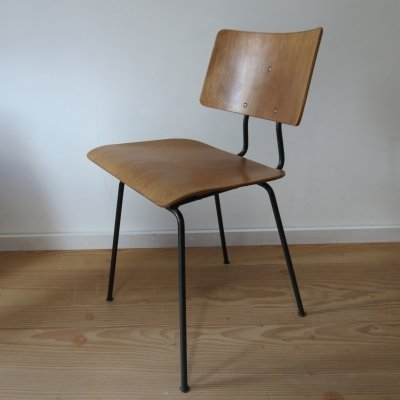 Original 1950s Robin Day Orchestra Chair by Hille