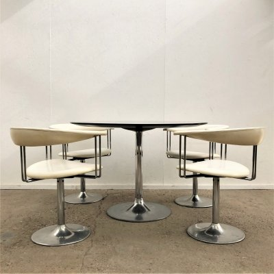Space age dining set, 1960/70s