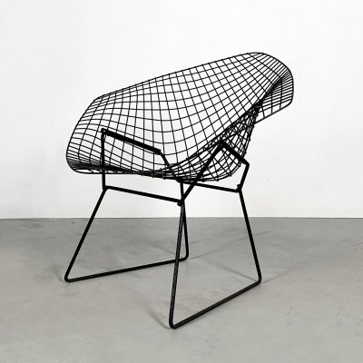 Black Diamond Chair by Harry Bertoia for Knoll, 1970s