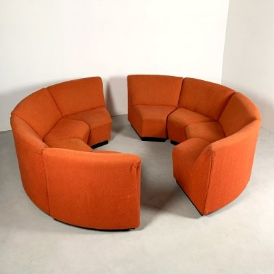 Modular Seating Group of 8 elements, 1970s