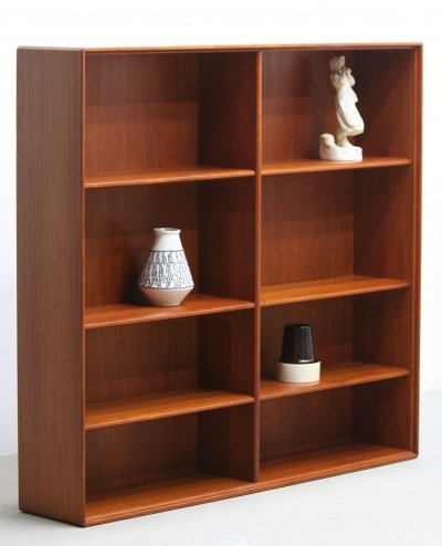 MCM Teak Bookcase by Bertil Fridhagen for Bodafors, 1961