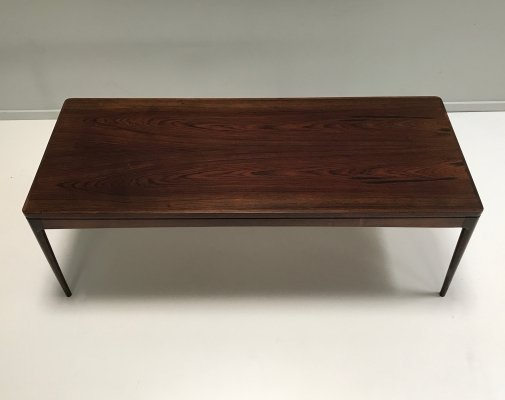Rosewood coffee table by Johannes Andersen for CFC Silkeborg, 1960s