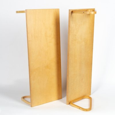 Pair of 112A wall units by Alvar Aalto for Artek, 1970s
