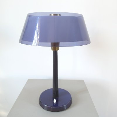 Purple Tuomas Table Light by Yki Nummi for Stockmann-Orno, Finland 1950s
