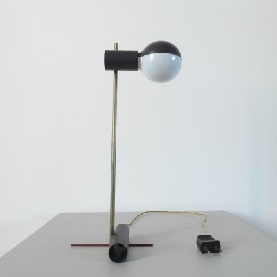 Gerrit Rietveld small table light, the Netherlands 1925