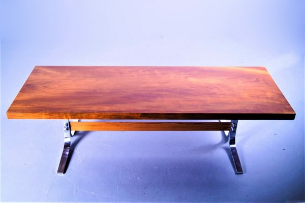 Solid Teak Top Coffee table, 1970s
