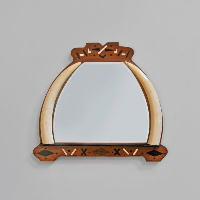 1930s wall mirror