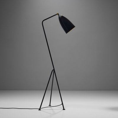 Greta Magnusson Grossman 'Grasshopper' Floor Lamp for Bergboms, Sweden 1947
