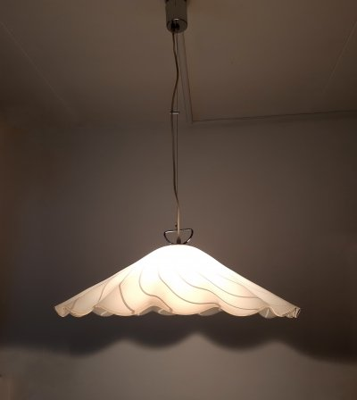 Fazzoletto hanging lamp by Kalmar, 1960s