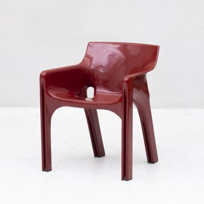 Gaudi side chair by Vico Magistretti for Artemide, Italy 1970