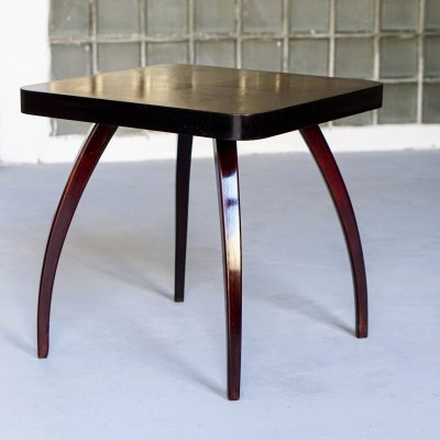 Art deco table H 259 designed by Jindřich Halabala, 1930s