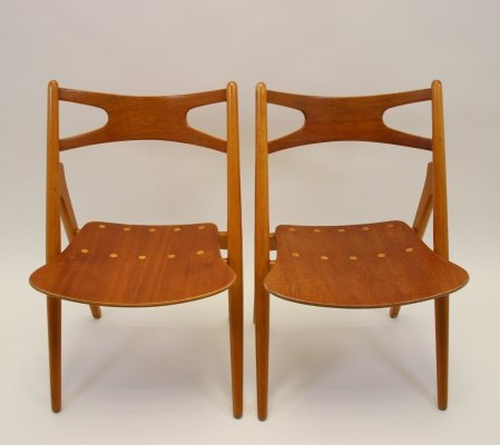 Hans Wegner Model Ch 29 chair by Carl Hansen & Son, 1950s
