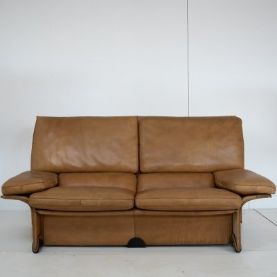 Brunati Light brown Albatros sofa by Giampiero Vitelli & Titiana Ammannati