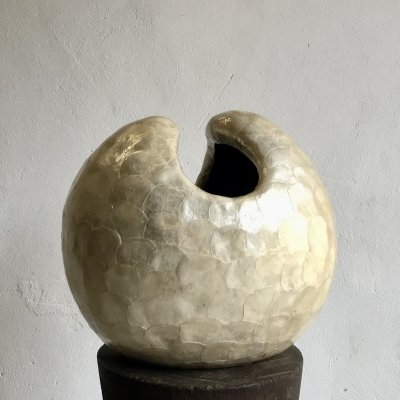 Nacre And Fibreglass Sculpture, 1980s