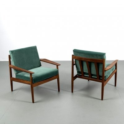 Set of 2 Arne Vodder chairs for Glostrup Møbelfabrik, 1960s