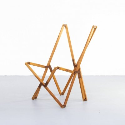 JB Fendy 'Tripolina' naked chair for Dario Alfonsi