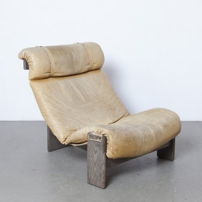 Tripod Lounge Chair by Durlet, 1970s