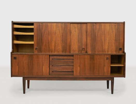 Mid-Century Highboard by Johannes Andersen for J. Skaaning & Søn