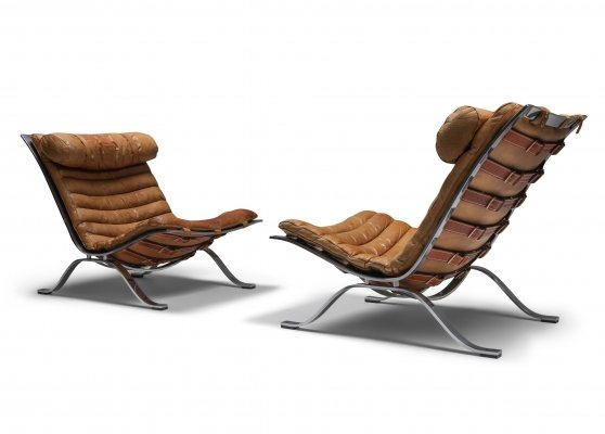 Arne Norell Lounge Chairs 'Ari' by Arne Norell AB, 1960s