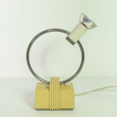 Halogen Ring desk lamp by Philips, 1980s