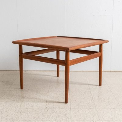 Teak coffee table by Grete Jalk, 1960s