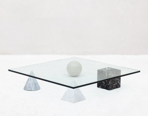 Post modern Italian 'Metaphora' coffee table by Massimo & Lella Vignelli, 1970s