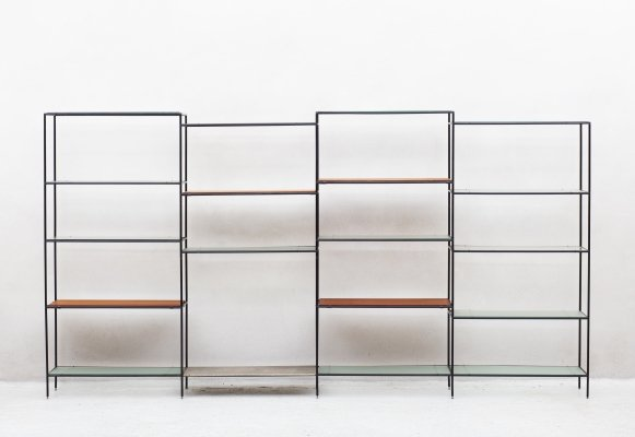 Abstacta shelving system by Poul Cadovius, Denmark 1960's