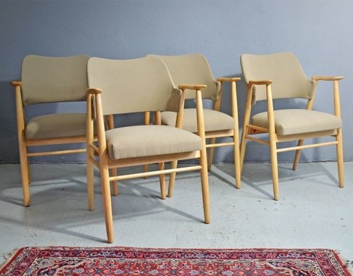 Set of 4 Cees Braakman Dining Chairs for Pastoe, 1960s