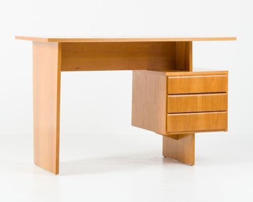 Czechoslovakian writing desk by Bohumil Landsman, 1970s