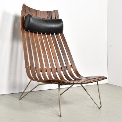 Scandia lounge chair by Hans Brattrud for Hove Möbler, 1960s